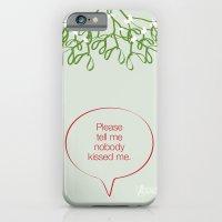 Under the mistletoe iPhone 6 Slim Case