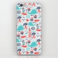 Ahoy Matey iPhone & iPod Skin