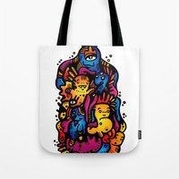 Monsterdelia Tote Bag