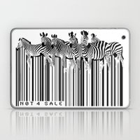Zebra Barcode Laptop & iPad Skin