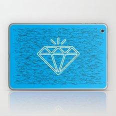 diamond cyan Laptop & iPad Skin