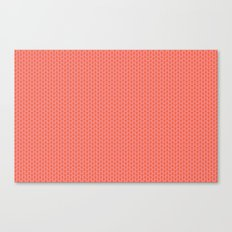 U16 - knit pink Canvas Print