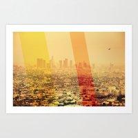 L.A Art Print