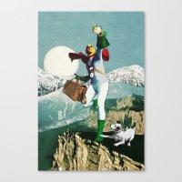 Divination Tarot: Fool Canvas Print
