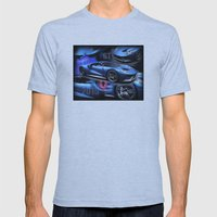 2015 Ford GT Mens Fitted Tee Athletic Blue SMALL