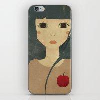 My Heart Is An Apple iPhone & iPod Skin