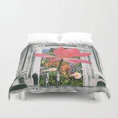 The magical Lotus flower Duvet Cover