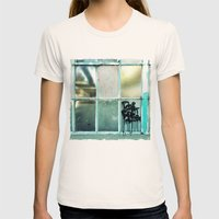 Window One A Womens Fitted Tee Natural SMALL