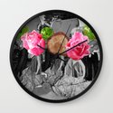 Flamenco Florales Wall Clock