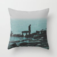 As Once, In a Dream Throw Pillow