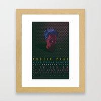 Gig Poster  Framed Art Print