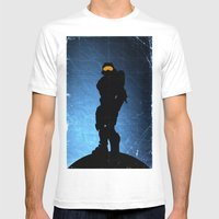 Halo 4 - Sierra 117 Mens Fitted Tee White SMALL