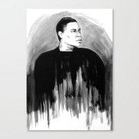 DARK COMEDIANS: Tracy Mo… Canvas Print