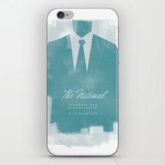 The National - Blue Blazered iPhone & iPod Skin