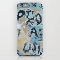 iPhone & iPod Case featuring sf graffiti by redlinedesign®