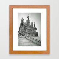 St. Petersburg, Russia Framed Art Print
