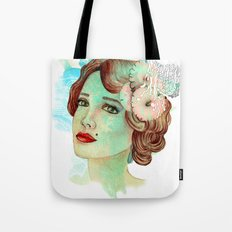 retro woman 2 Tote Bag