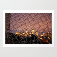 The City Lines Art Print