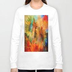 sunflower vintage Long Sleeve T-shirt