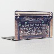 Qwerty Laptop & iPad Skin