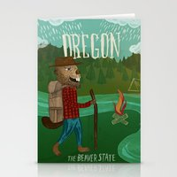 Oregon Stationery Cards