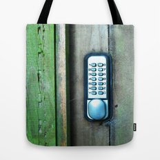 Combination Lock Tote Bag