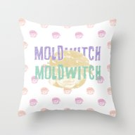 MOLDWIT2H Throw Pillow