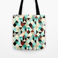 Harlequin Tile Tote Bag