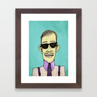 The Dapper Framed Art Print