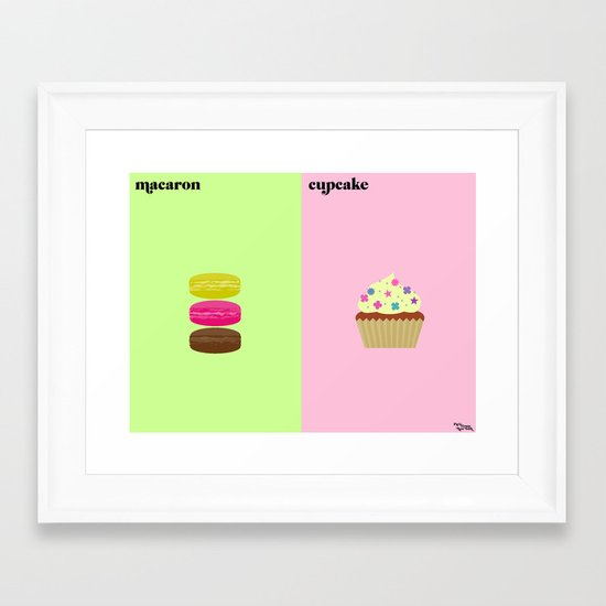 l'obsession Framed Art Print