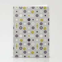 kooky spot 2 Stationery Cards