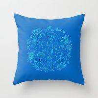 Oceanesque Throw Pillow