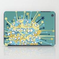 Bubbly Creatures Print iPad Case