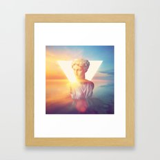 vaporwave Framed Art Print
