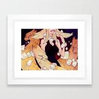 Heiress Framed Art Print
