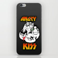 Angry Kiss iPhone & iPod Skin