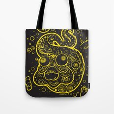 The Golden Eel (in yellow gold) Tote Bag