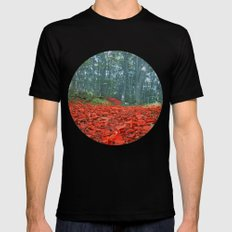 Enchanted Black SMALL Mens Fitted Tee