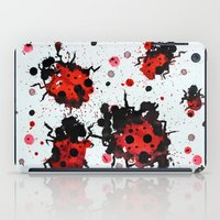 Splattered Bugs iPad Case