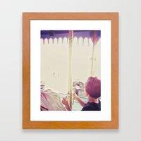 Carousel III Framed Art Print