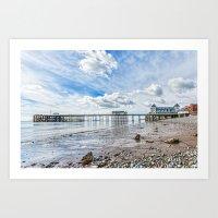 Penarth Pier Morning Light 2 Art Print