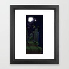 Worst Nightmare Framed Art Print