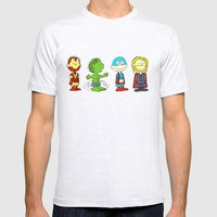 Little Avengers Mens Fitted Tee Ash Grey SMALL