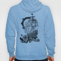 The sea route to the moon Hoody