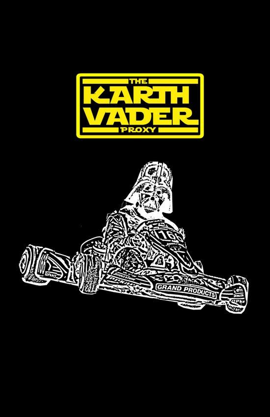 Kart Vader Art Print