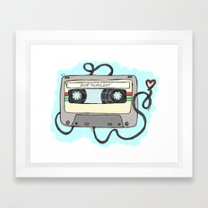 Mixtape Framed Art Print