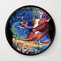 Space Harrier Wall Clock