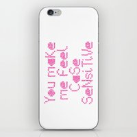 Case Sensitive iPhone & iPod Skin