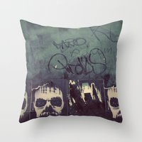 Myst Throw Pillow