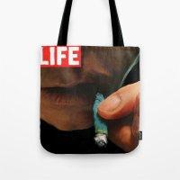 LIFE MAGAZINE: Marijuana Tote Bag